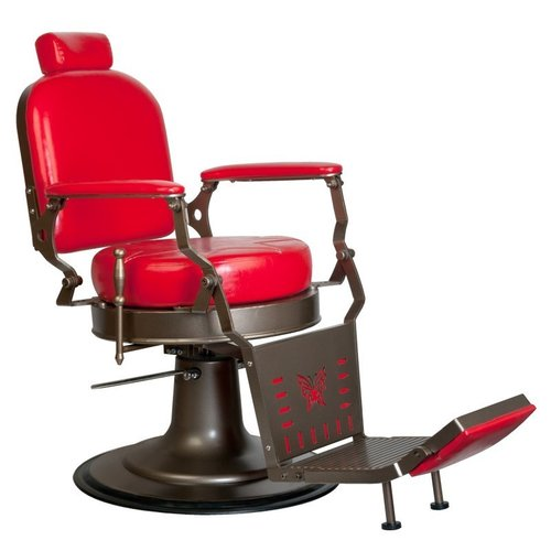 Barber chair - Red Star