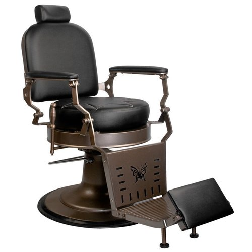 Barber chair - Black Star